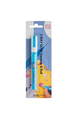 2-Way Glue Pen - Squeeze & Roll
