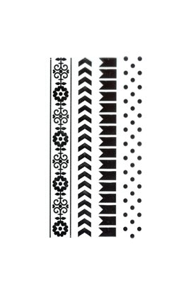 Clear Stamp - Border Stamp - Dots
