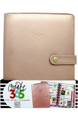 """Create 365 Mini Planners Cover 8""""x6"""" - Rose Gold"""