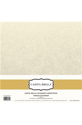 "Cover Cardstock 12""X12"" - Cream"