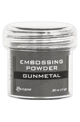 Embossing powder -  Sage Metallic
