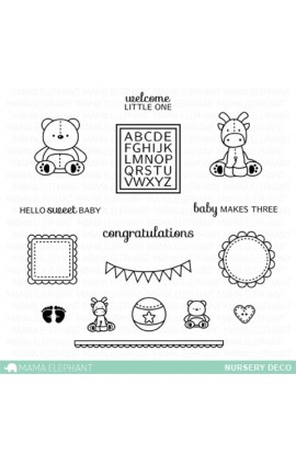 NURSERY DECO - Stamps