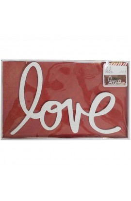 Heidi Swapp Holiday Wall Words Decor - LOVE
