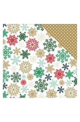 Deck The Halls - Glimmering Snowflakes