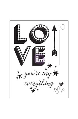 Clear Stamp - Love Clippings