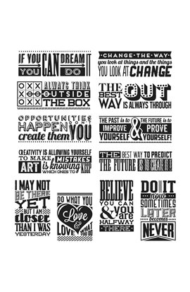 Mini Motivation - Tim Holtz Collection