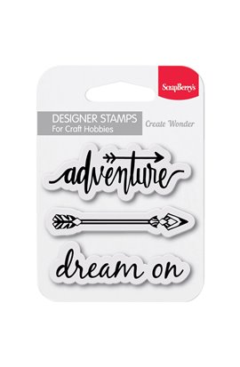 "Dream On - Clear Stamps 2,7""x2,7"""