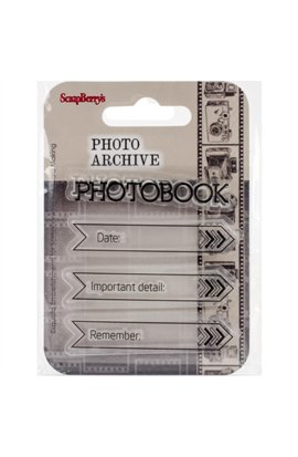 Calendar - Photo Archive Clear Stamp