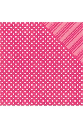Dots & Stripes - HOT PINK