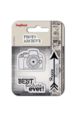 Best Picture - Photo Archive Clear Stamp