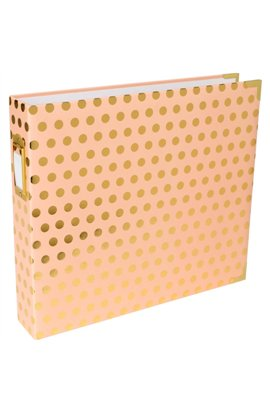 Blush W/Gold Dots Album