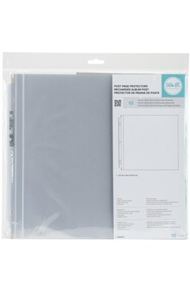 Wer Post Page Protectors |10 - 12x12