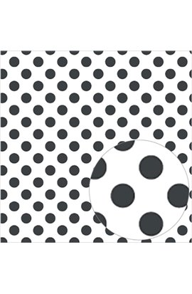 "Acetate Black Dots sheet - 12""x12"""