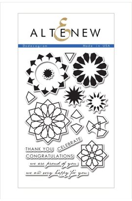 Dodecagram - Stamp Set