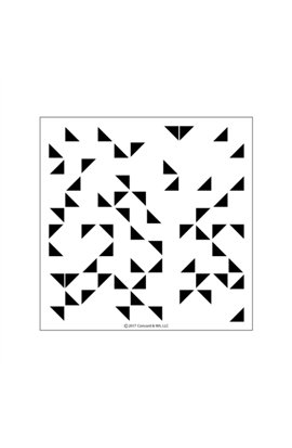 """Clear Stamps 6""""X6"""" - Triangle Turnabout"""